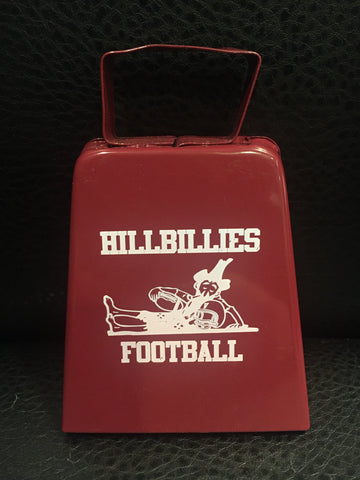 Hillbillies Football Cowbell