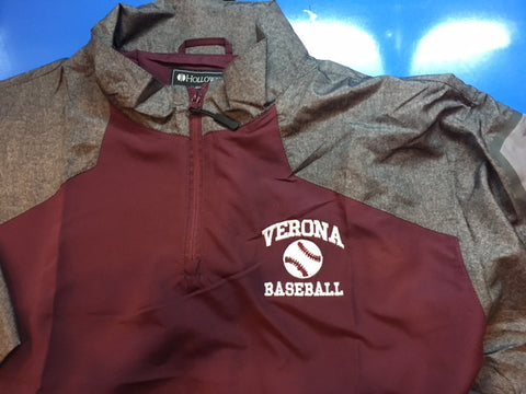 Holloway Raider Short Sleeve pullover with Verona Baseball