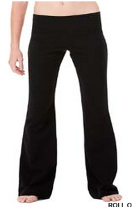 Bella + Canvas Ladies' Cotton/Spandex Fitness Pant