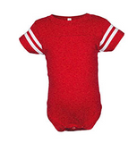 Rabbit Skins  Infant Fine Jersey Football Onsie