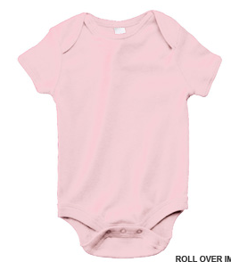 Bella + Canvas Baby Short Sleeve Baby Rib Onesie
