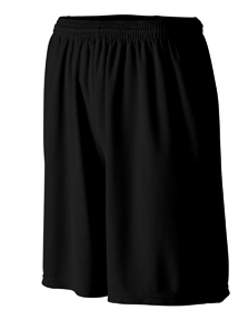 Augusta Mens black shorts w/ pockets