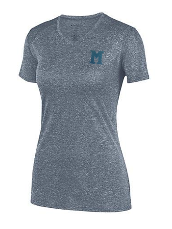"Augusta Glitter Flake ""M"" Ladies Kinergy Training Tee"