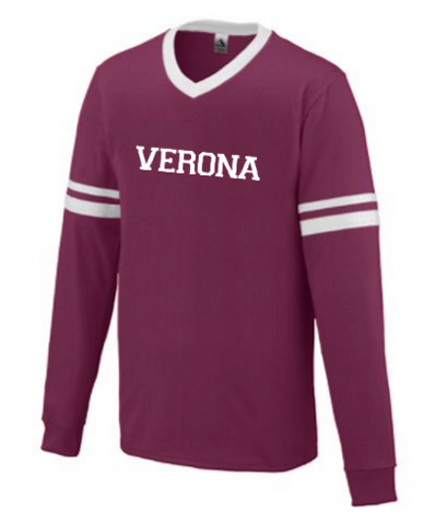Augusta Verona Long Sleeve Stripe Jersey