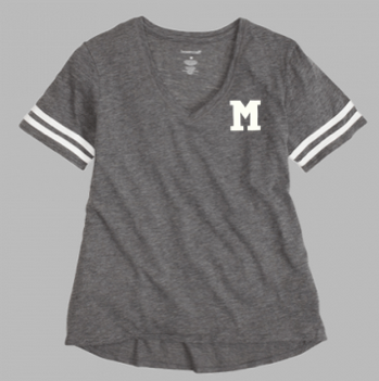 "Boxercraft ""M"" Sporty Slub T-Shirt"