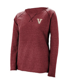 "Augusta ""V"" Ladies French Terry"
