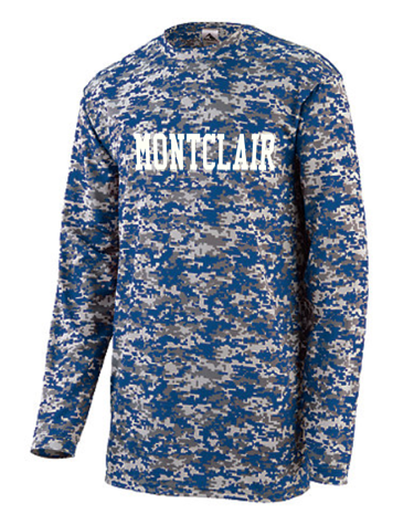 Augusta Digi Camo Long Sleeve Montclair