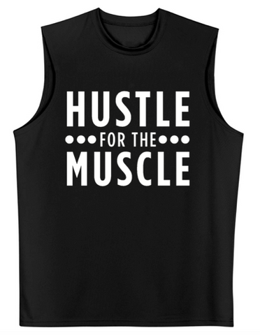 "A4 ""Hustle For the Muscle"" Cooling Performance Muscle T-Shirt"