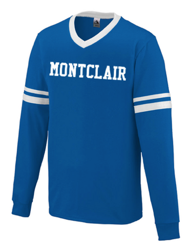 Augusta Montclair Long Sleeve Stripe Jersey