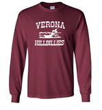 "Gildan ""HILLBILLY FOR LIFE"" Long Sleeve Shirt"