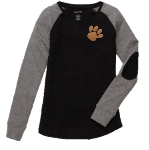 Boxercraft Giltter Paw Preppy Patch Tee