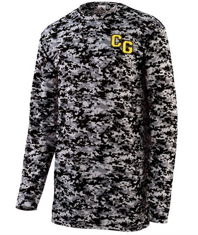 "Augusta ""CG"" embroidered Digi Camo Long Sleeve"