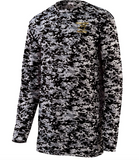 Augusta Digi Camo Long Sleeve Cedar Grove Panthers w/Embroidered