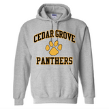 Gildan Cedar Grove Paw Two-Color Sweatshirt