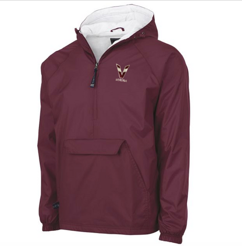 Charles River Tri-Color V Verona Classic Solid Pullover
