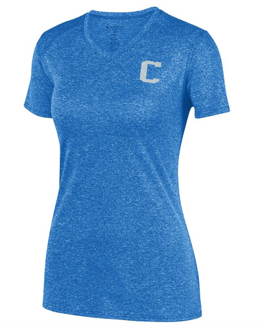 Augusta Glitter C Ladies Kinergy Training Tee