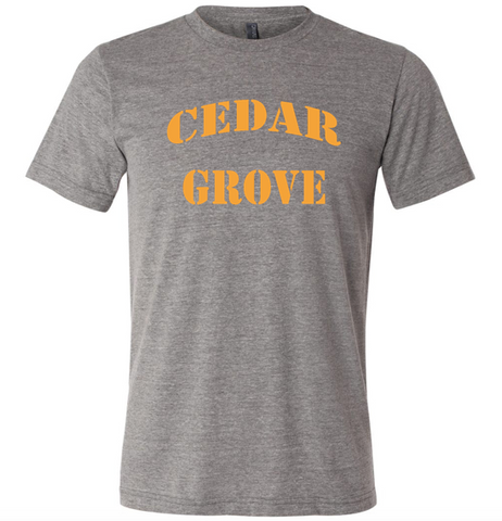Bella + Canvas Cedar Grove Unisex Triblend Short-Sleeve T-Shirt
