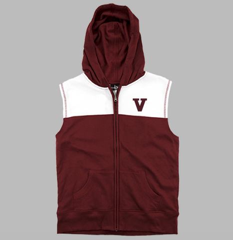 "Boxercraft ""V"" Rival Sleeveless Hoodie"