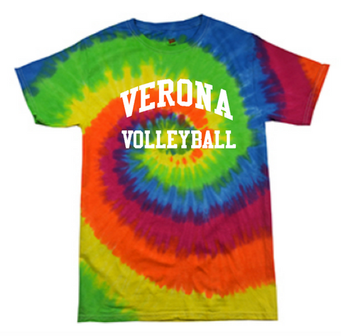 Colortone Verona Volleyball Tie-Dye T-Shirt