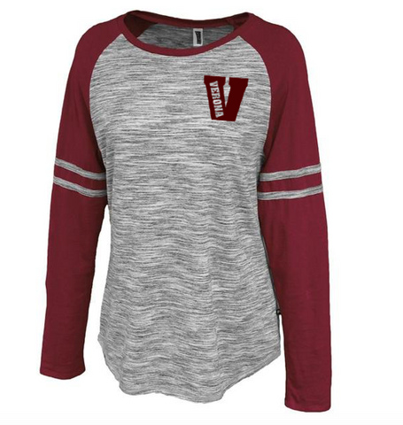 "Pennant Verona in ""V"" Space Dye Jersey"