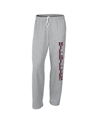 Gildan Hillbillies Open-Bottom Sweatpants