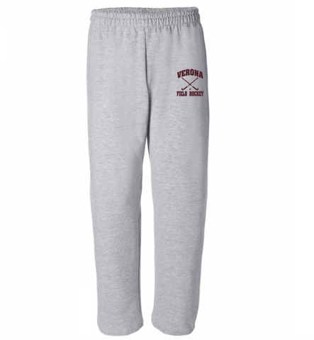 Gildan Verona Field Hockey Open-Bottom Sweatpants