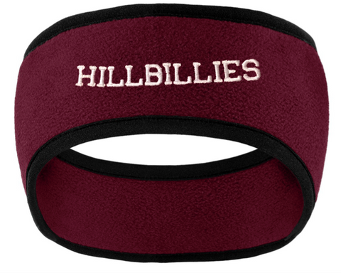 Port Authority Hillbillies Two-Color Fleece Headband