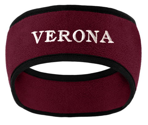 Port Authority Verona Two-Color Fleece Headband