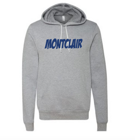 Bella + Canvas Montclair Fleece Pullover Hoodie