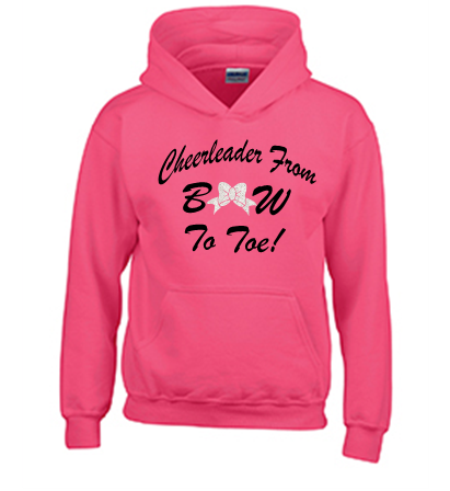 Gildan Customizable Bow To Toe Hoodie