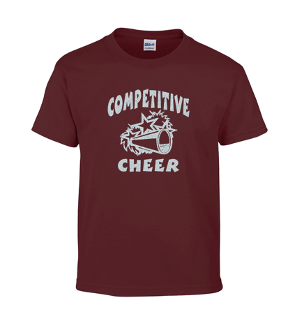 Gildan Customizable Competitive Cheer T-Shirt