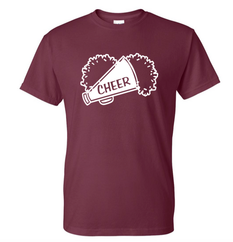 Gildan Customizable Cheer T-Shirt