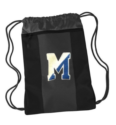 "Team 365 Montclair ""M"" Cinch Drawstring"
