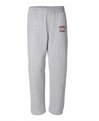 Gildan Verona Hillbillies Football Open-Bottom Sweatpants