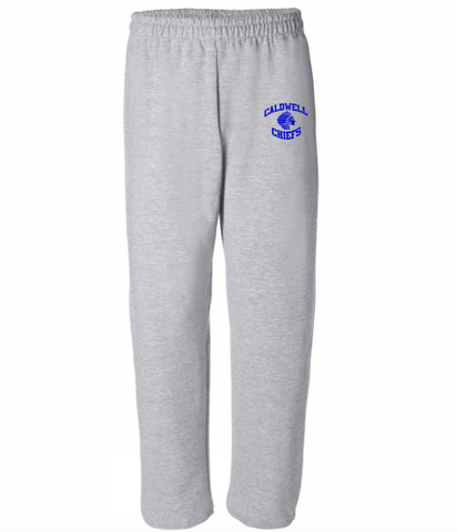 Gildan Caldwell Chiefs Mens Open-Bottom Sweatpants