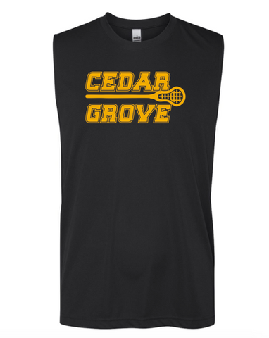 All Sport Cedar Grove Lacrosse Unisex Performance Shooter T-Shirt