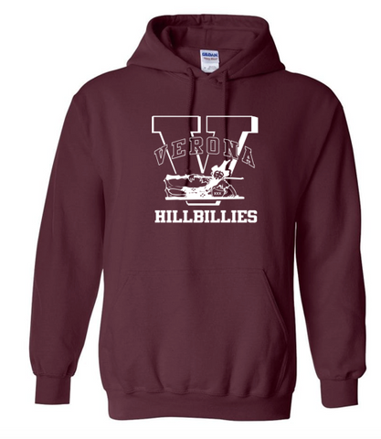 "Gildan ""VERONA HILLBILLIES"" Hooded Sweatshirt"
