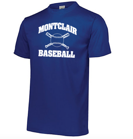 Augusta Montclair Baseball Wicking T-Shirt