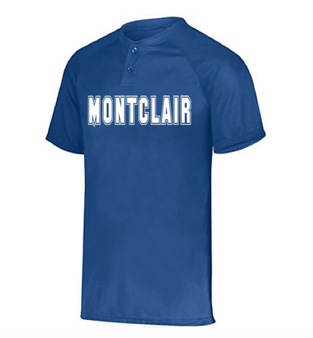 Augusta Montclair Attain Two-Button Baseball Jersey