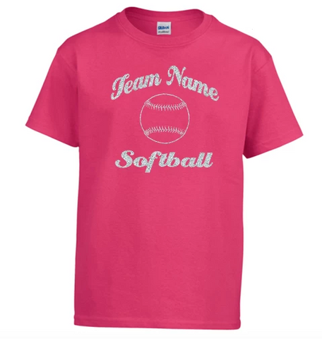 Gildan Customizable Baseball/Softball T-Shirt