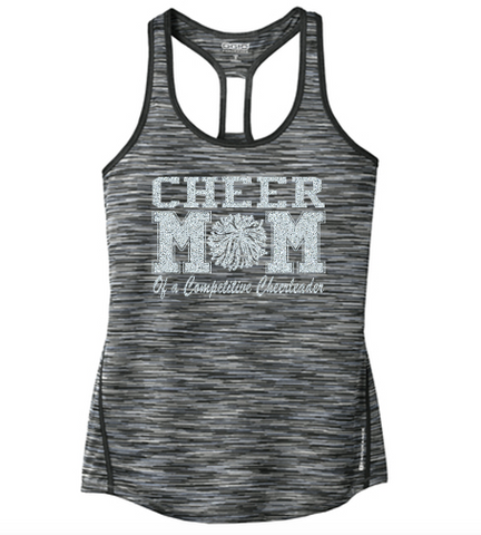 OGIO Customizable Cheer Mom Verge Racerback Tank
