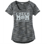 OGIO Customizable Cheer Mom Verge Scoop Neck