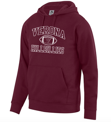 Augusta Verona Hillbillies Football Fleece Hoodie