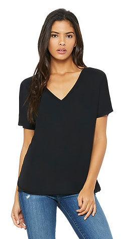 Bella + Canvas Women's Slouchy V-Neck Tee