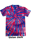 Tie Dye Customizable Competitive Cheer T-shirt