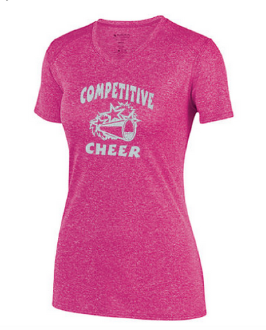 Augusta Customizable Competitive Cheer Kinergy Training Tee