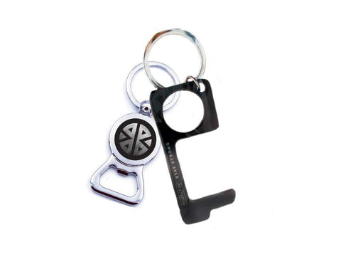 Pieces of Me Don't Touch That!  Bottle Opener Keychain