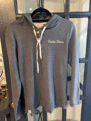Holloway Ladies Coast Hoodie - Cedar Grove script