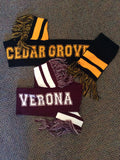 Pearsox Knit Scarf with Town Name
