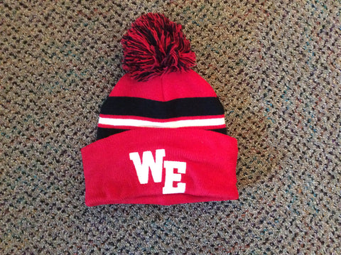 West Essex Pom-Pom Hat with Glitter Flake